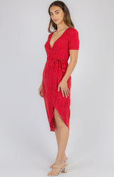 Tiffiny Dress - Red