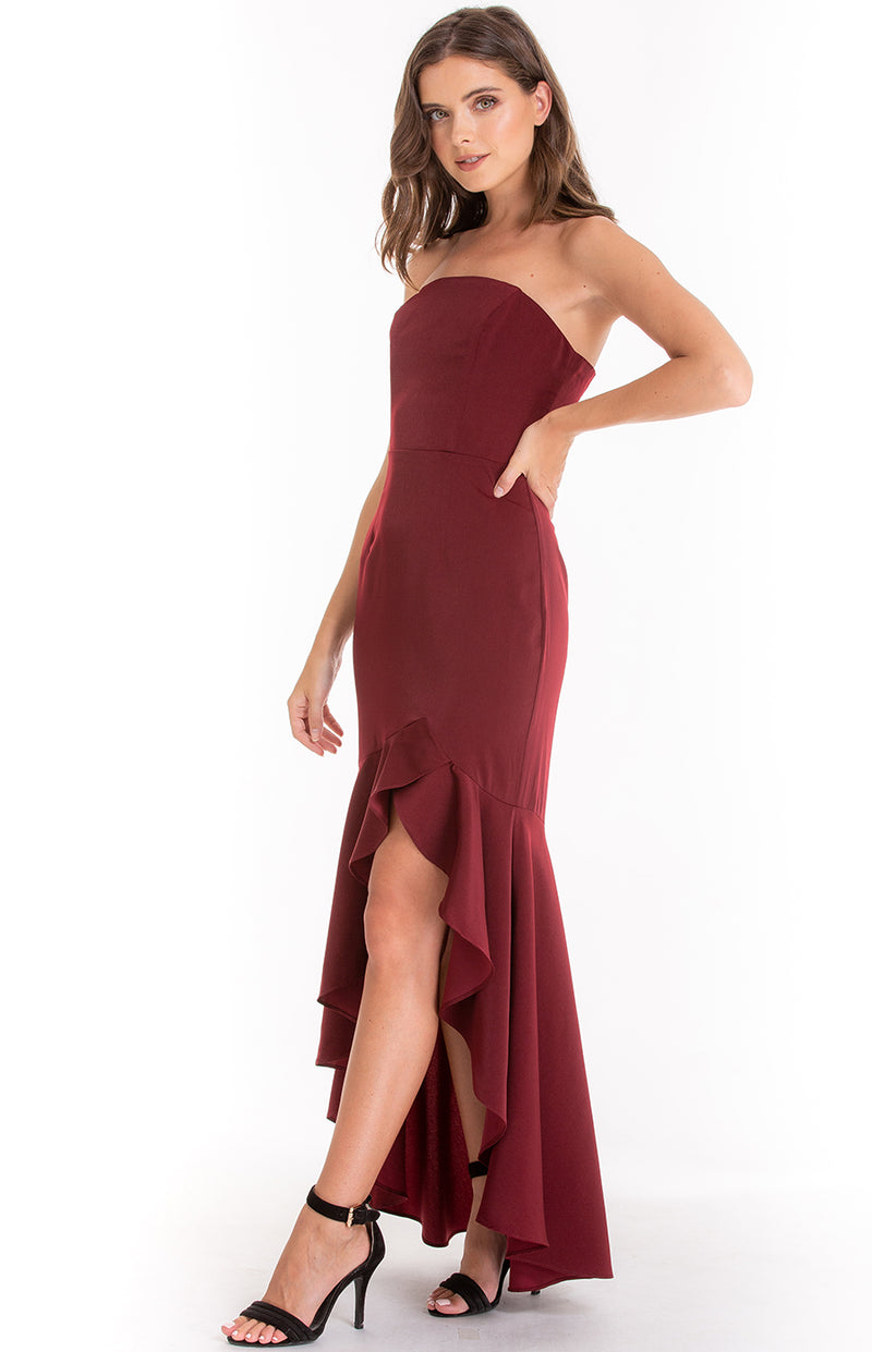 Lovely Dress in Wine