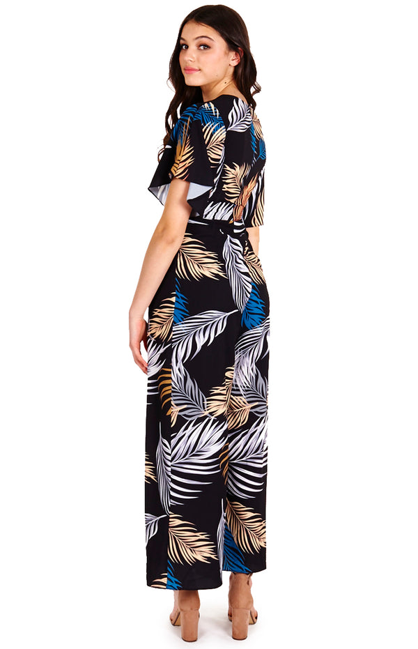Holy Jumpsuit -Black print