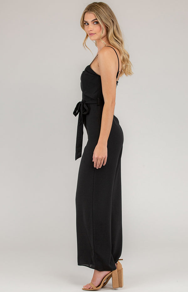 Jennie Jumpsuit In Black