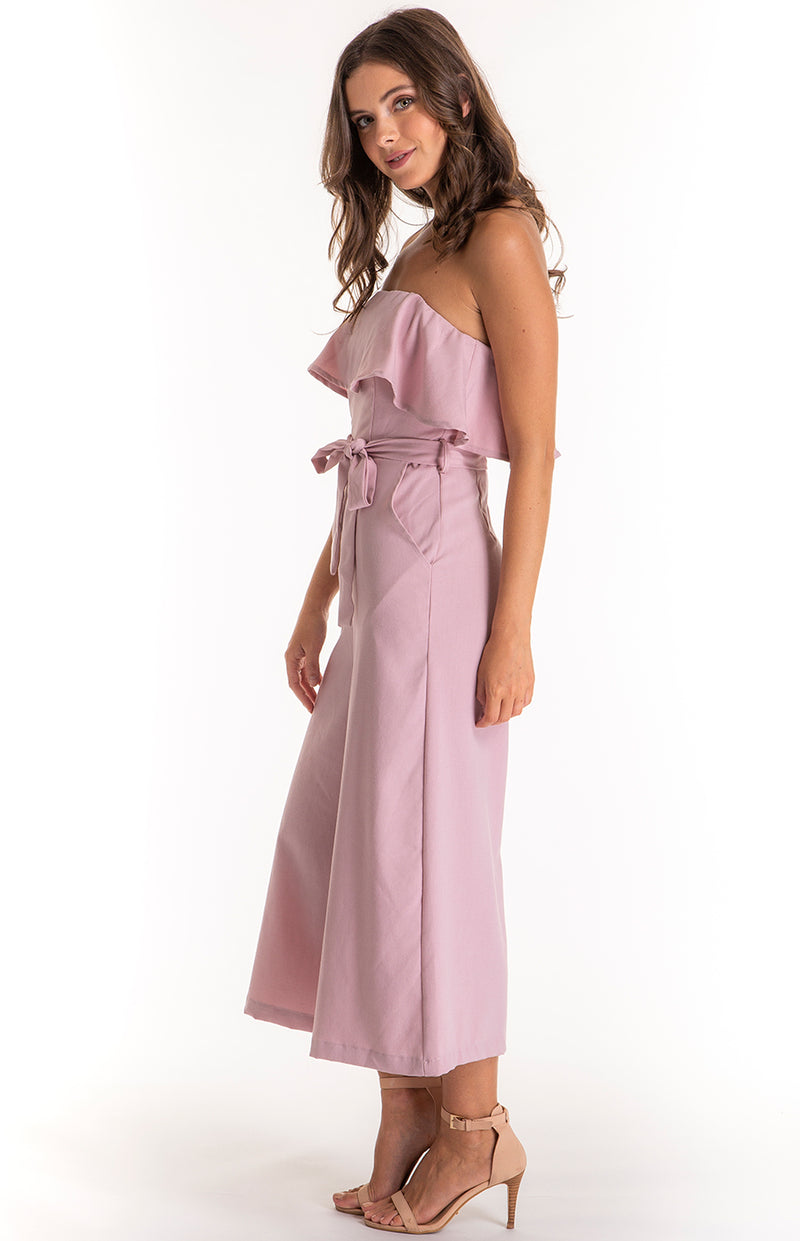 Lyna Jumpsuit Dusty Pink