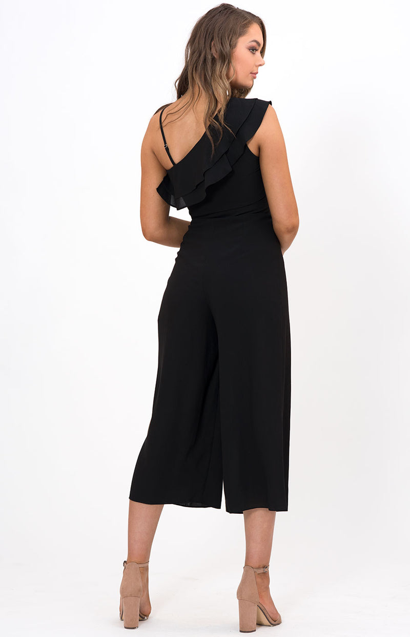 Zara Jumpsuit Black