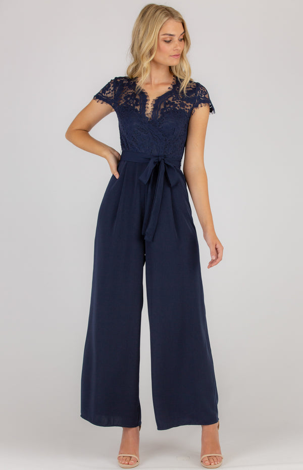 kimmy Jumpsuit In Navy