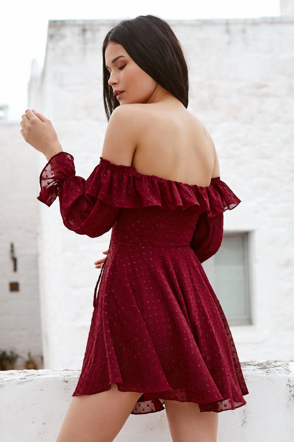 Azalea Dress Wine
