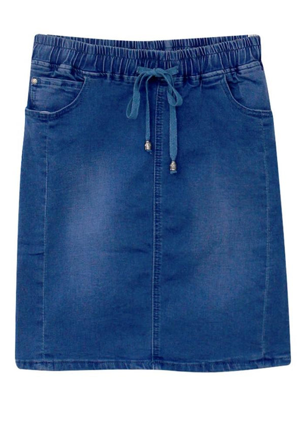 Cassie Denim Short Skirt
