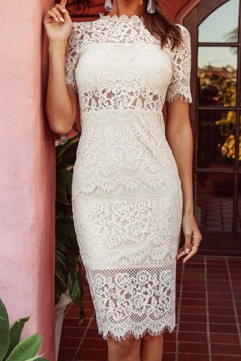 Dylan Dress Cream