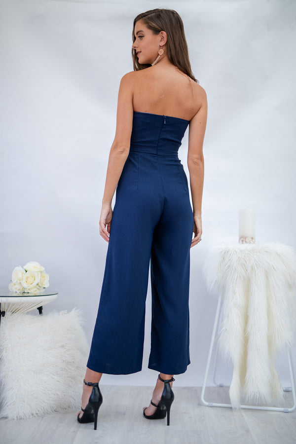 Ivy Jumpsuit in Navy