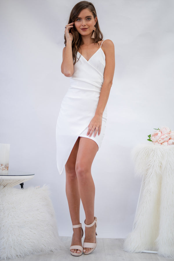 Glamour Day mini Dress in White