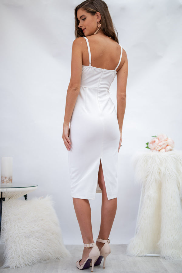 Crazy In Love Dress in White