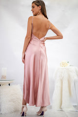 Snowflake Dress in Blush