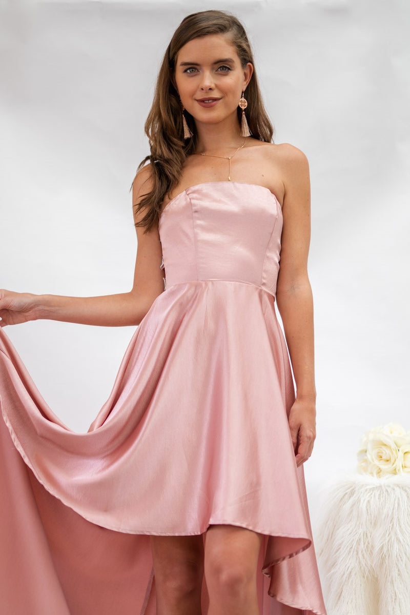 Halo Dress in Rose