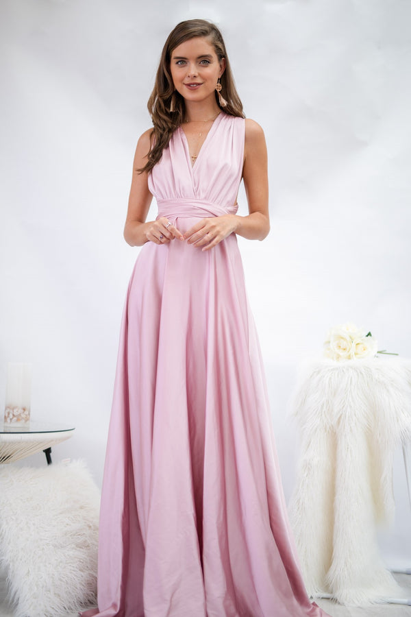 Fantasy Multiway Dress In Blush