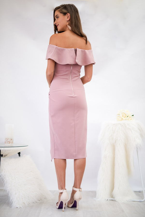Cynthia Dress in Blush
