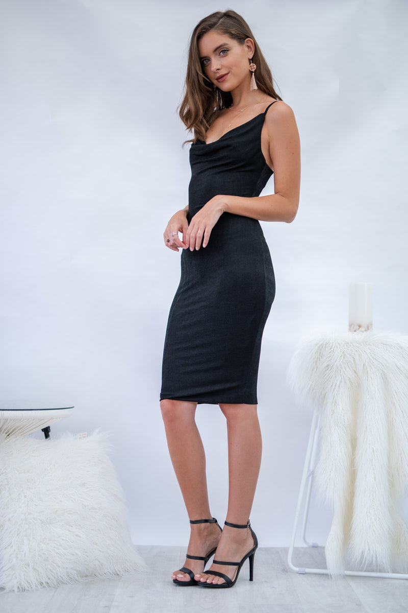 Pearl Dress - Black