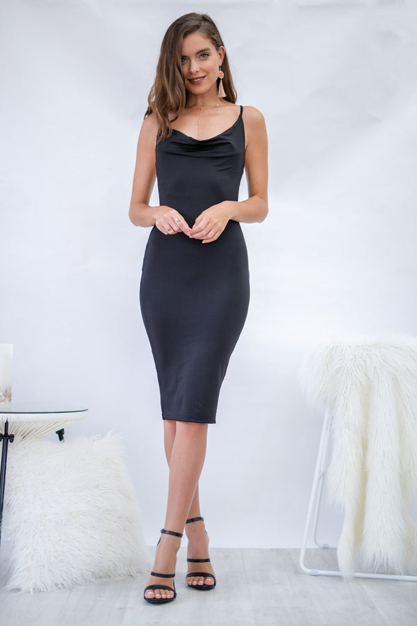 Breaking Dawn Dress in Black