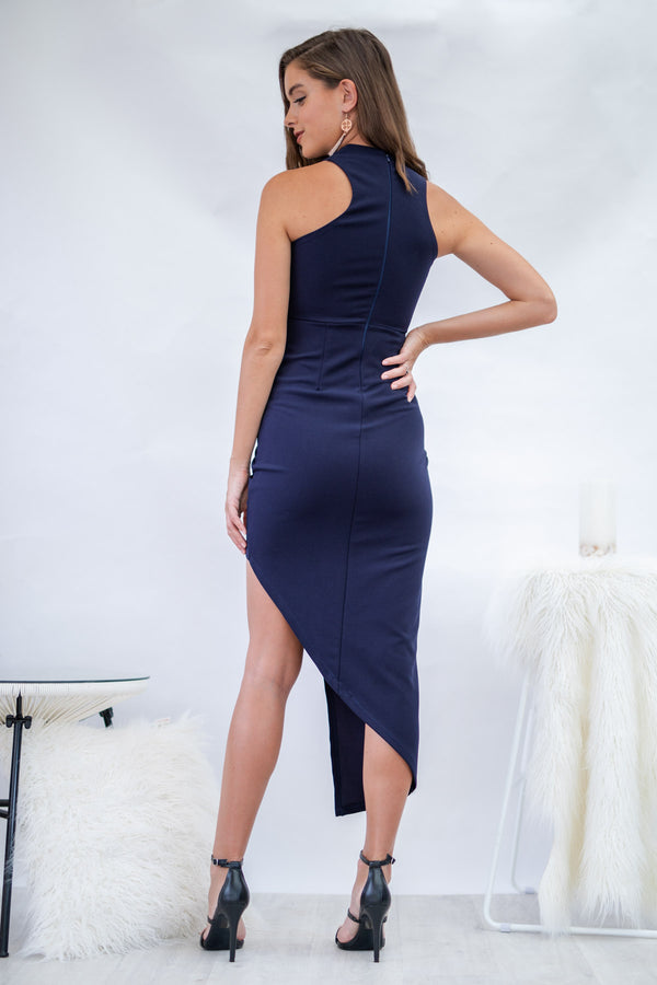 Moonlight Dress in Navy