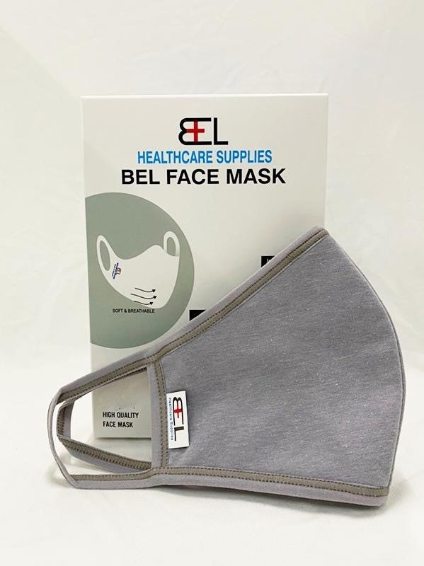 Bel Face Mask - Grey