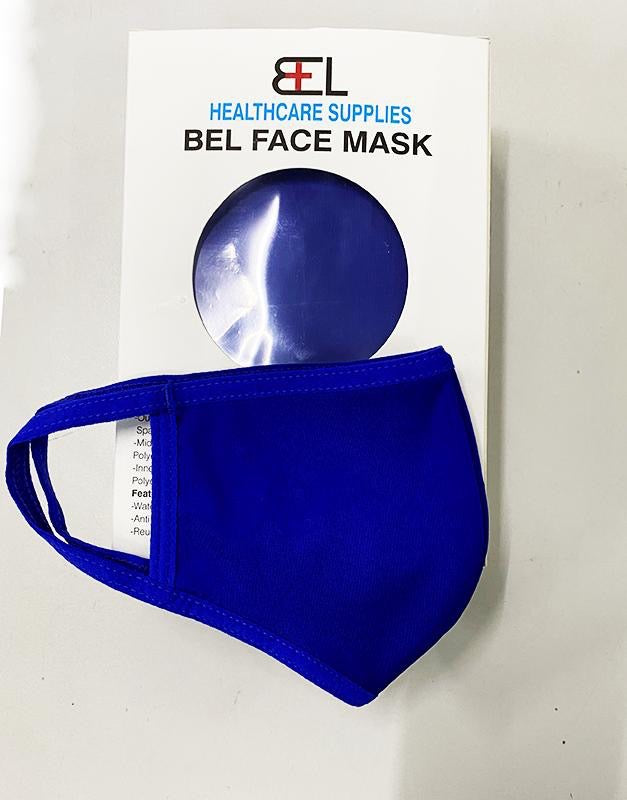 Bel Face Mask - Royal Blue