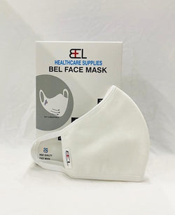 Bel Face Mask - White