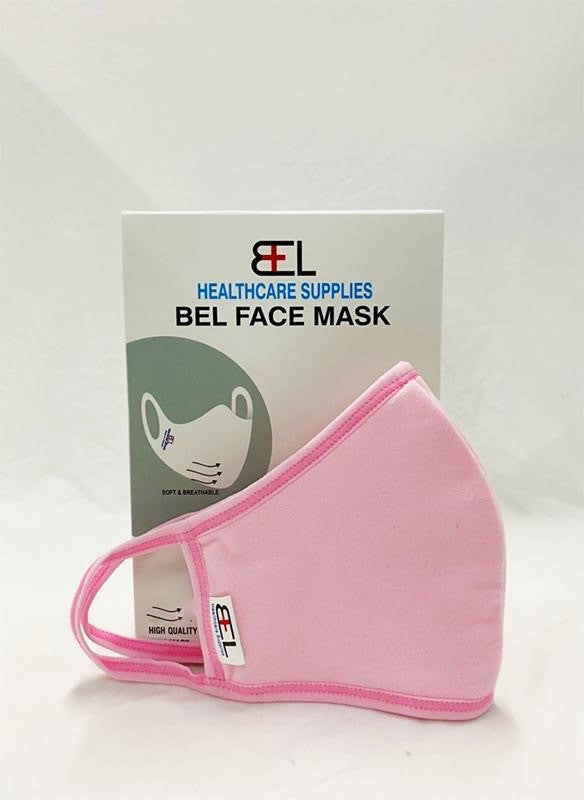 Bel Face Mask - Pink