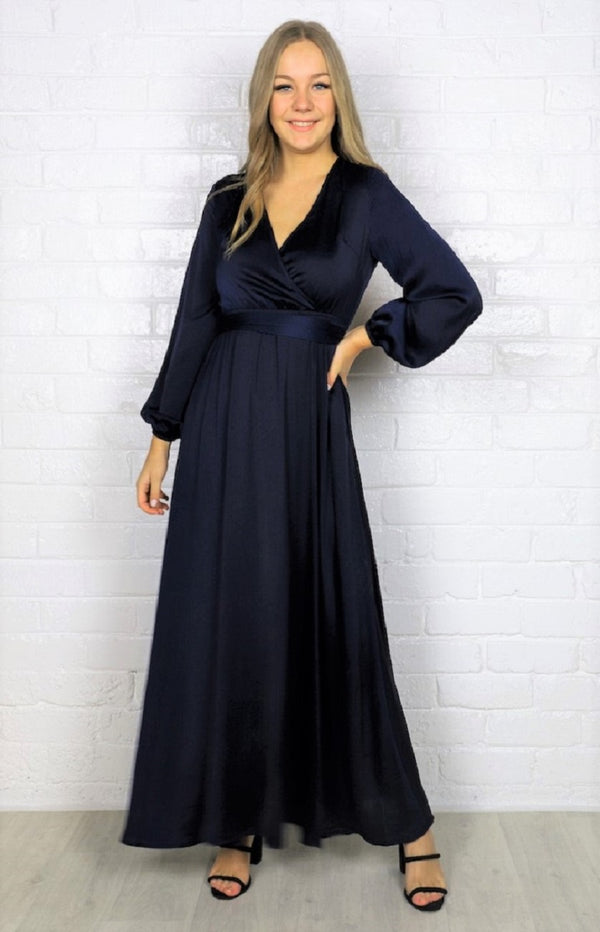 Lorisa maxi Dress - Navy