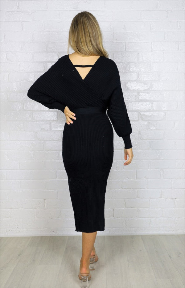 Samba Knit Dress - Black