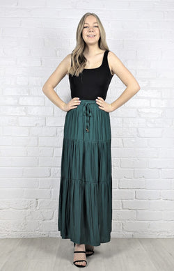 Halene Maxi Skirt - Green