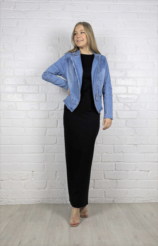 Holly Denim Jacket - Blue