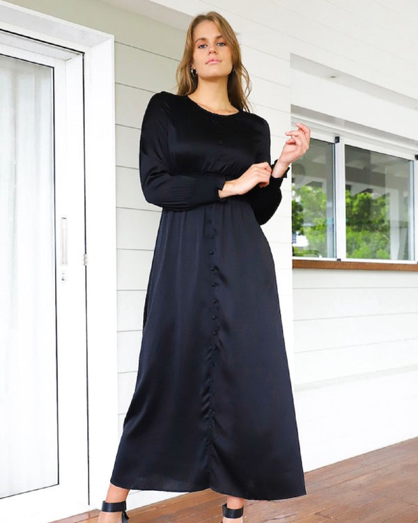 Destiny  Maxi  Dress - Black