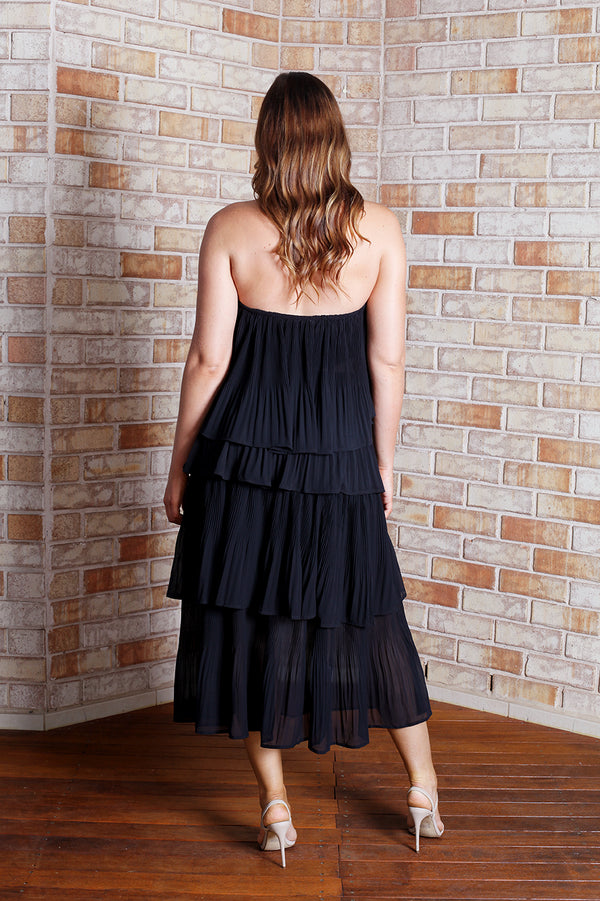 Tango Maxi Dress - Black