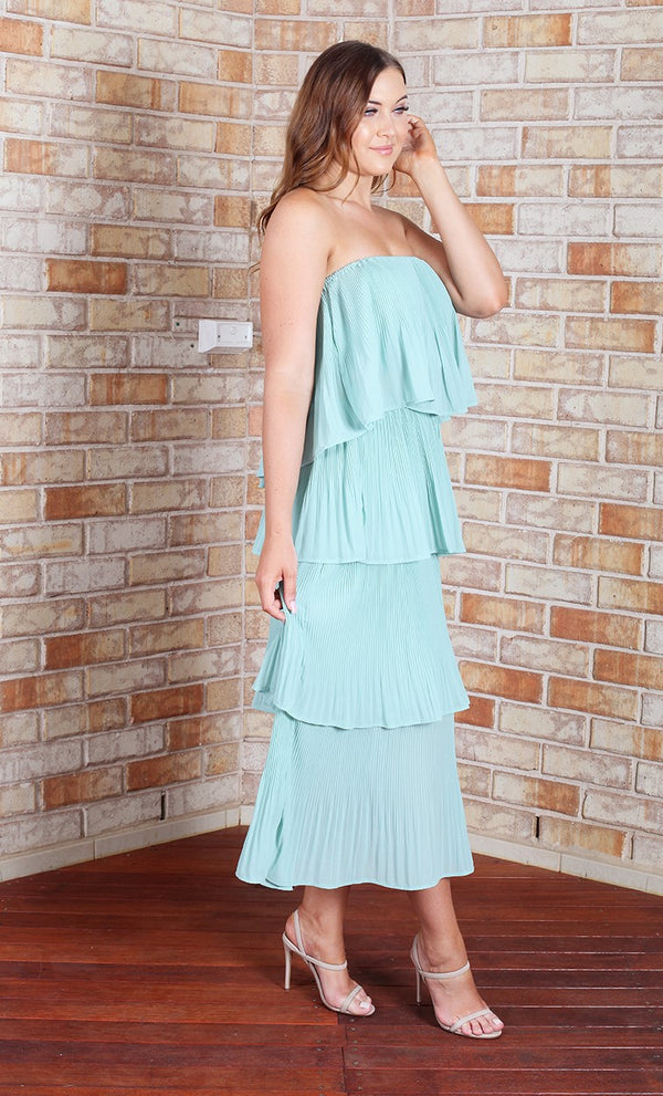 Tango Maxi Dress - Mint