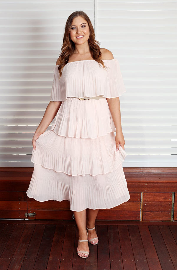 Tango Maxi Dress - Blush