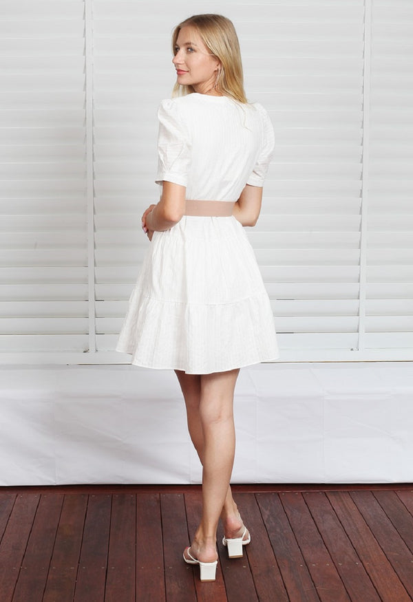 Isabel Dress - White
