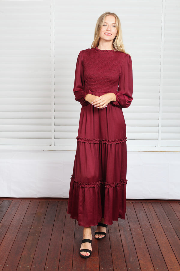Gigi Maxi Dress - Plum