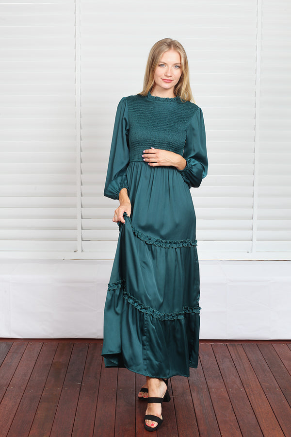 Gigi Maxi Dress - Teal
