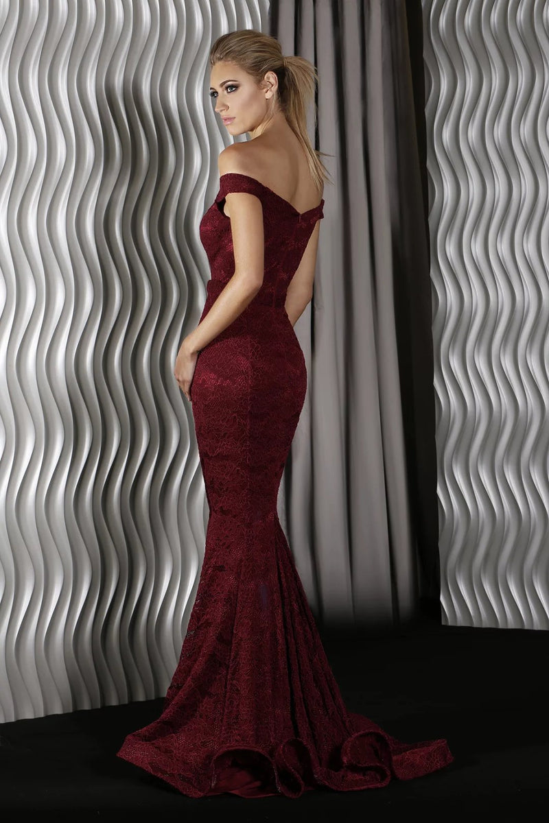 Laura Gown by Jadore Dusty Pink