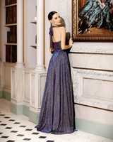 Amina Gown By Jadore - Navy
