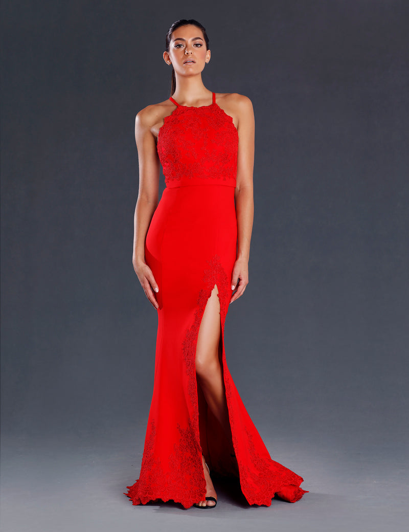 Rosie Gown by Jadore Red