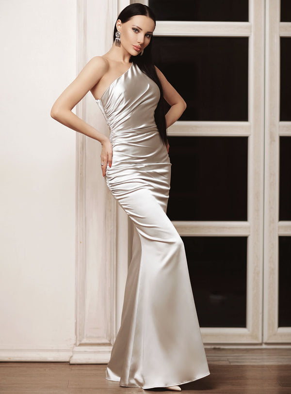 Alias  Gown By Jadore - Silver