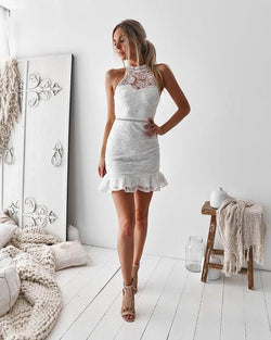 Lilo Dress in White