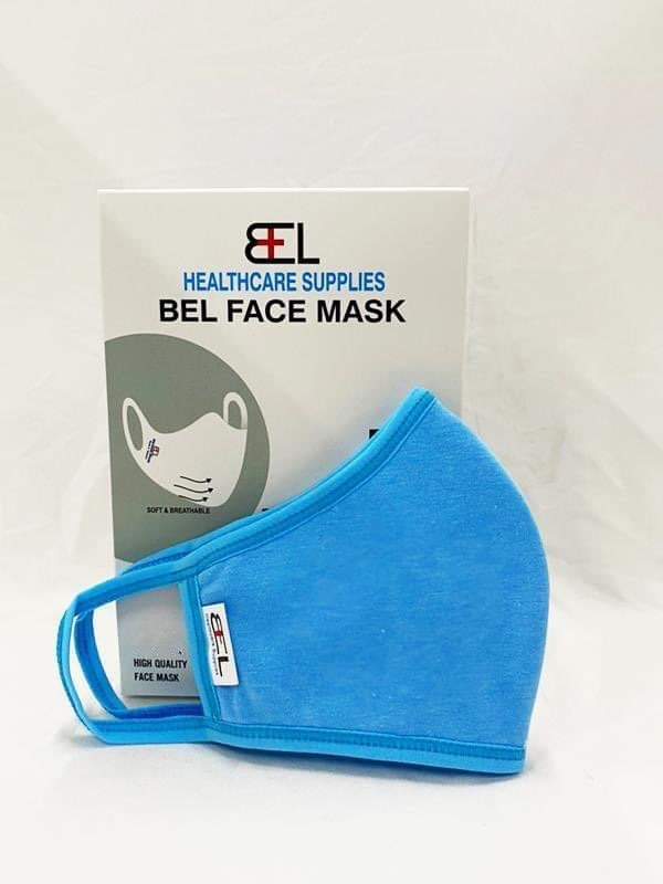 Bel Face Mask - Sky Blue