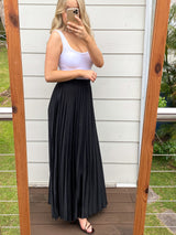 Adella Maxi Skirt - Black