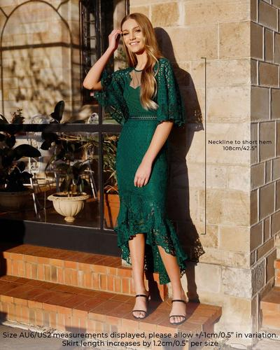 Reyna Dress - Green