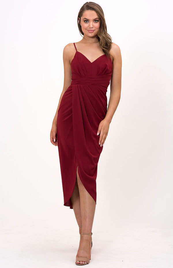 Kate Dress Wine