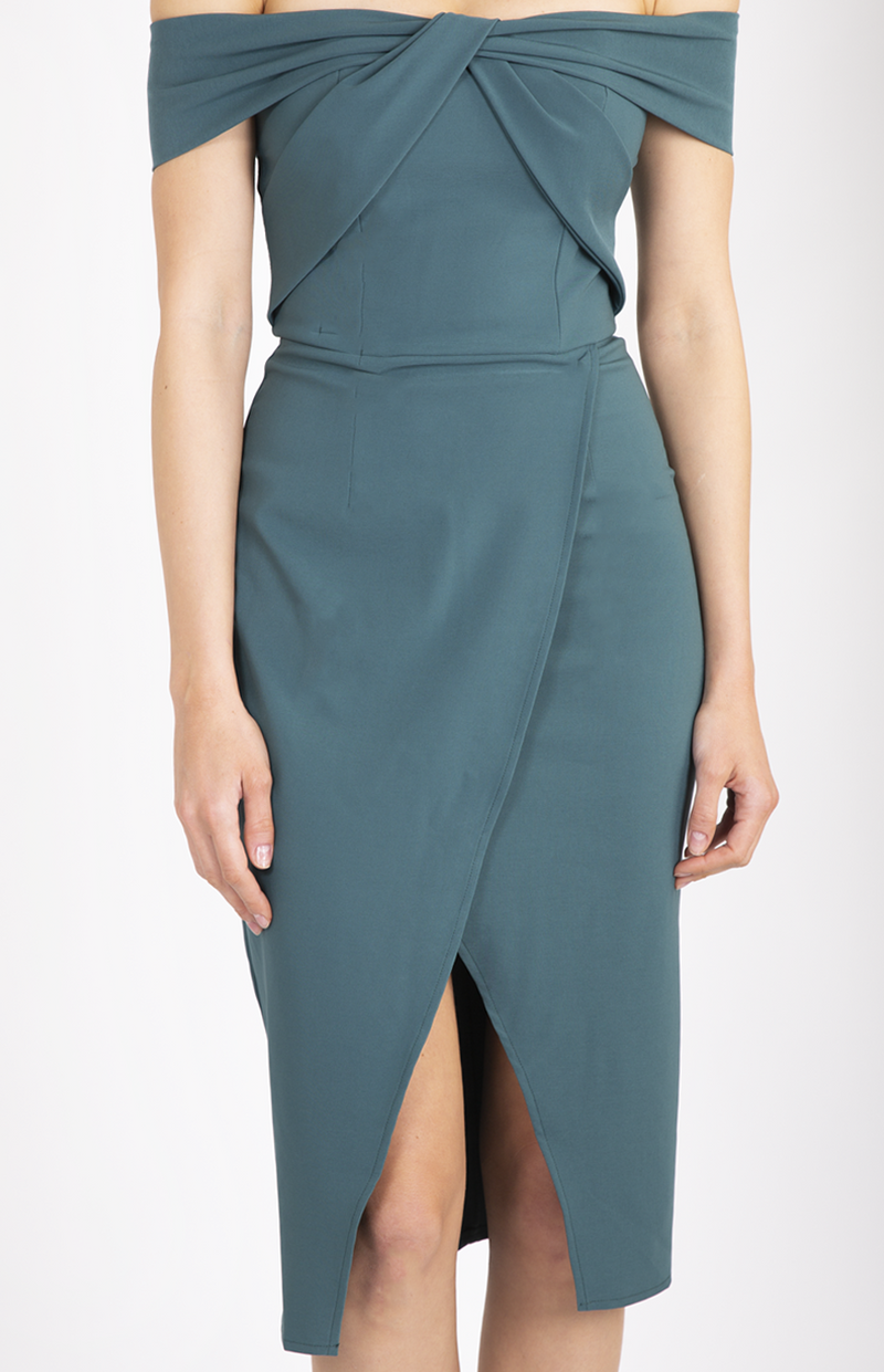 Naomi Dress in Teal