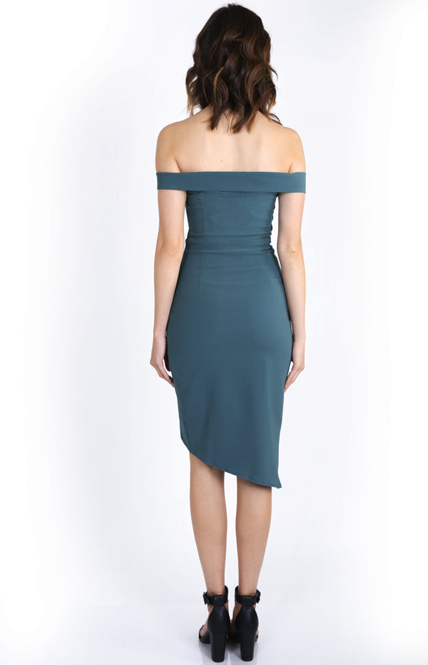 Eliasha Dress Teal