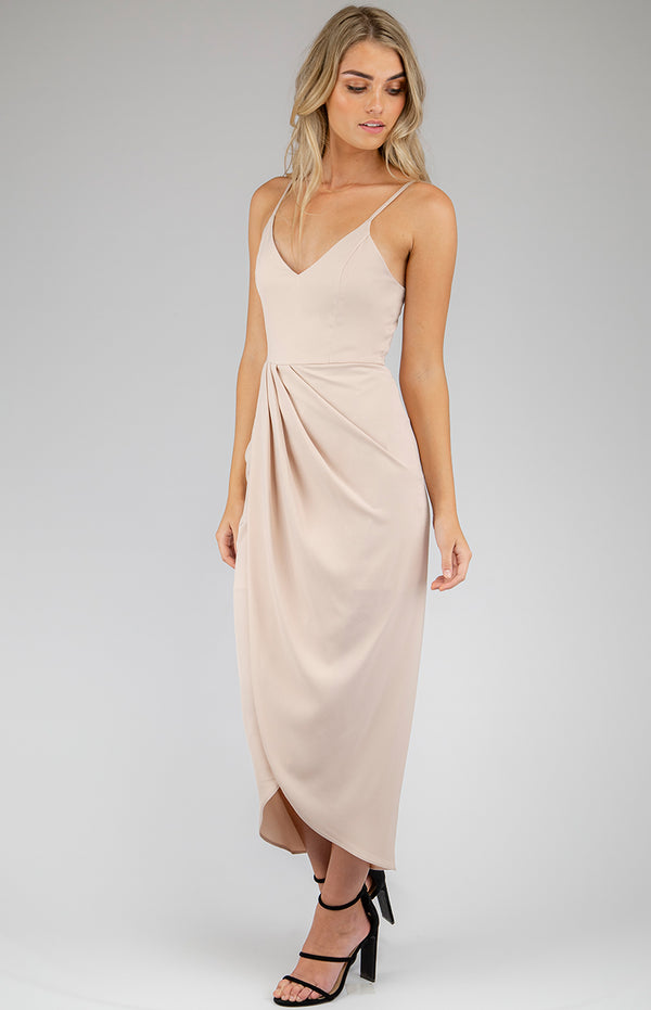 Nikki Dress In Champagne
