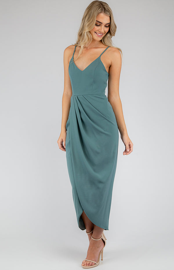 Nikki Dress In Sage