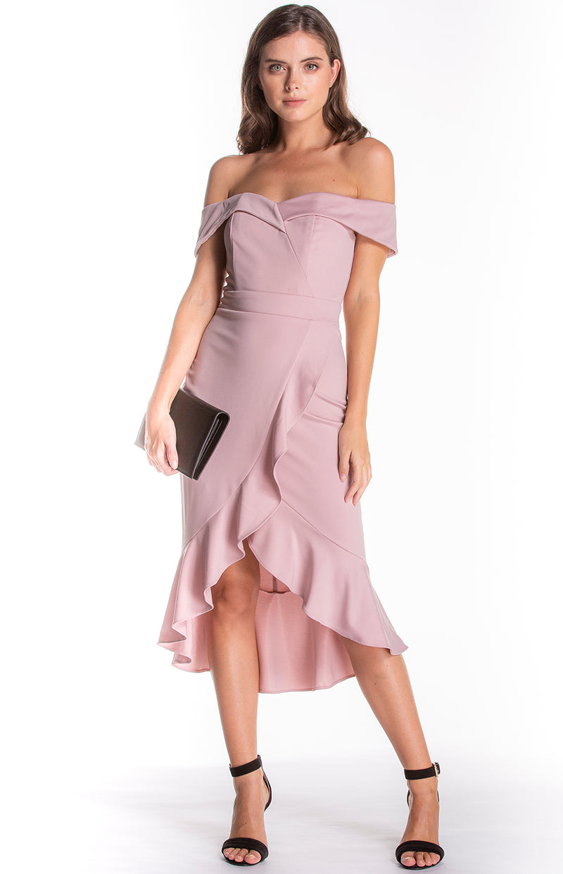 Margaret Dress Blush