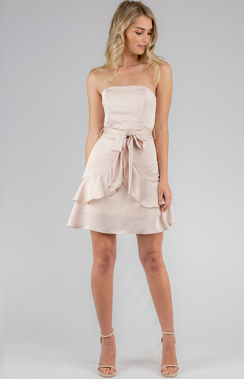 Candella  Dress - Champagne